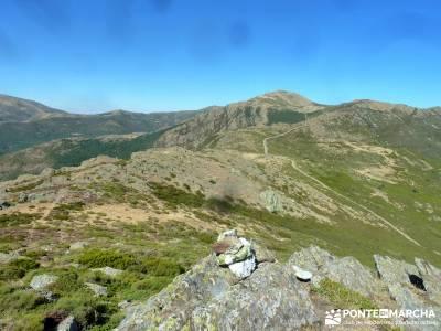Pico Santuy; El Cerrón; circo gredos mochila de trekking sitios para visitar en la comunidad de mad